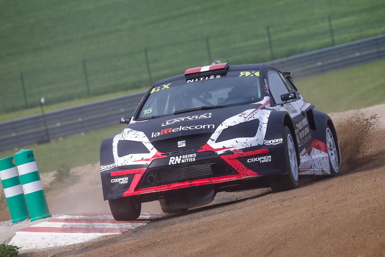 Reinis Nitišs | Reinis Nitišs takes Seat Ibiza RX to rallycross ...