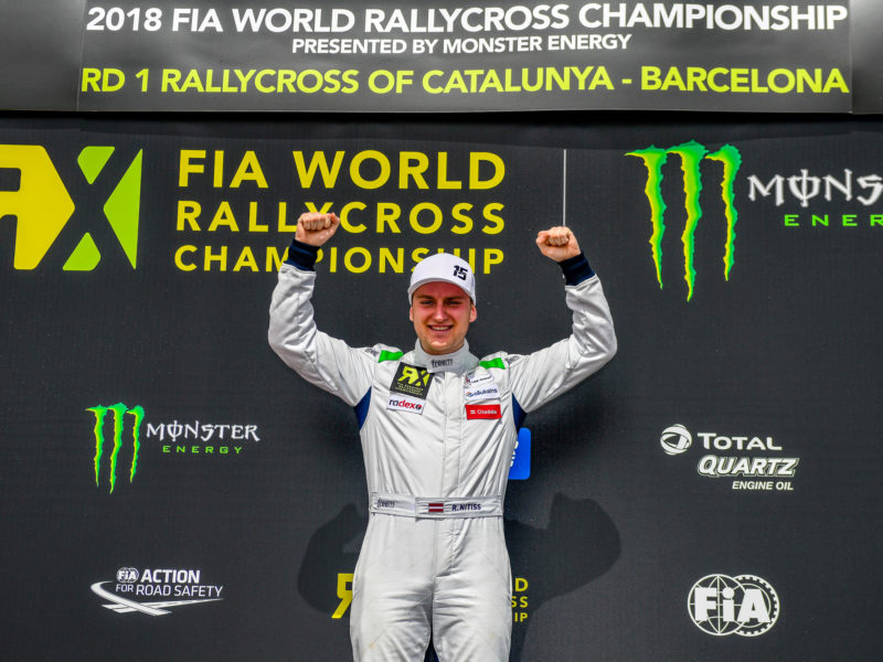 REINIS NITIŠS VICTORIOUS IN HIS RETURN TO EURO RX
