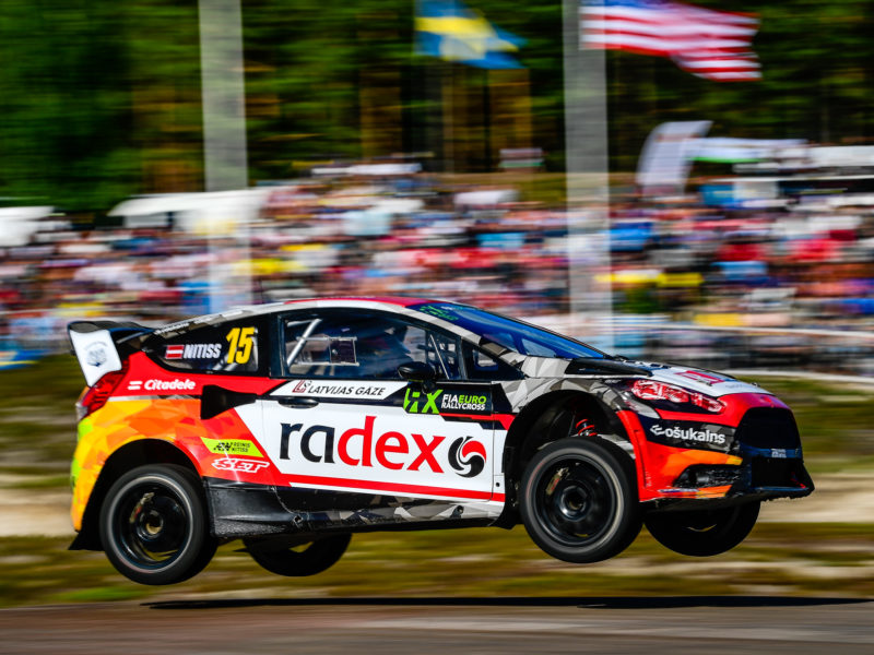 A POSITIVE DAY ONE FOR REINIS NITIŠS IN SWEDEN