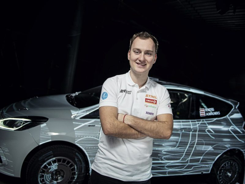 REINIS NITIŠS TO START HIS RALLY PROGRAM IN FINLAND