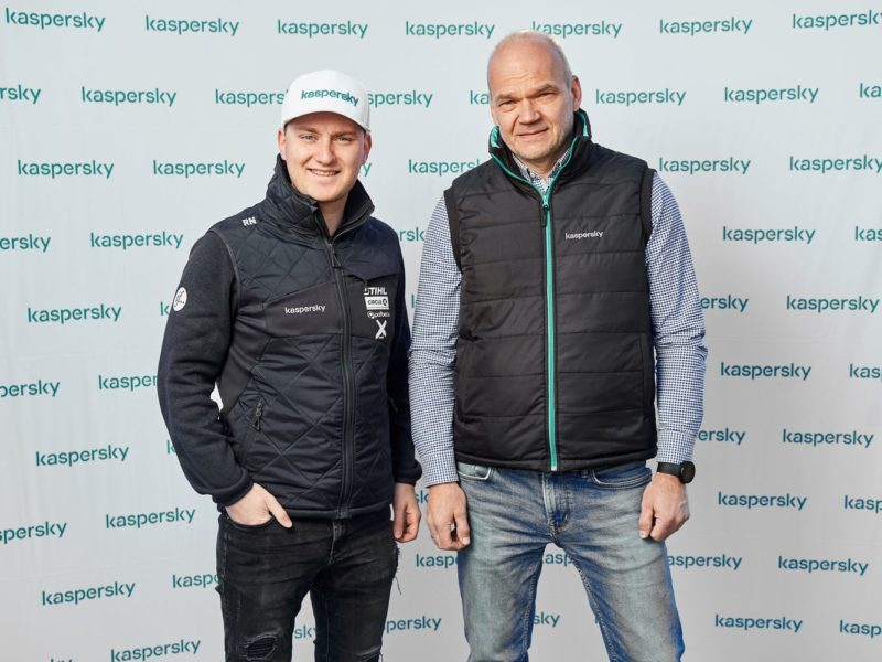 REINIS NITIŠS BECOMES THE AMBASSADOR OF KASPERSKY IN THE BALTIC STATES IN 2020